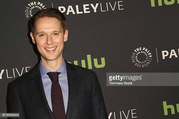 Samuel Barnett attends the PaleyLive LA 'Dirk Gently's Holistic Detective Agency' premiere screening and conversation at The Paley Center for Media...