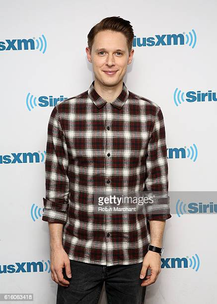 Samuel Barnett visits at SiriusXM Studio on October 21 2016 in New York City