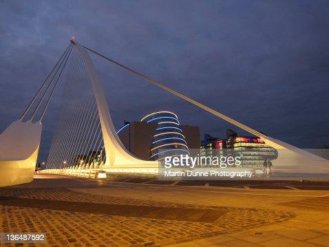 Samuel Beckett bridge and National Conference