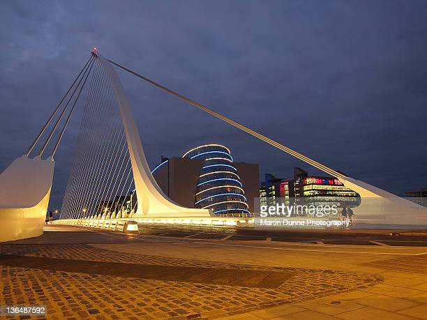 Samuel Beckett bridge and National Conference