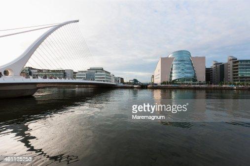 Samuel Beckett bridge and new Convention Center