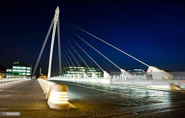 Samuel Beckett Bridge, Dublin Docklands