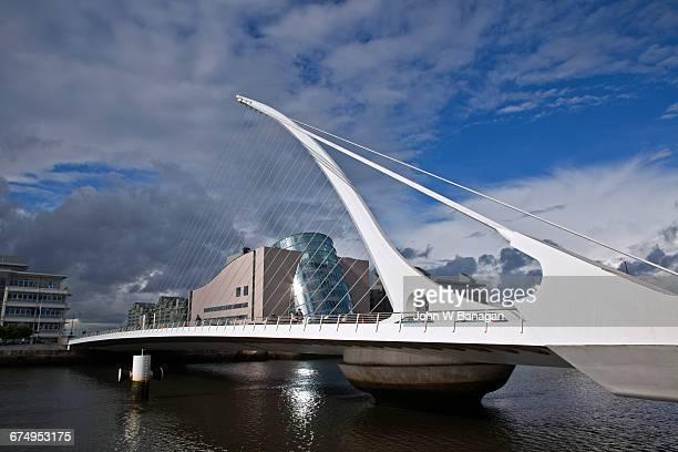 Samuel Beckett Bridge. Dublin