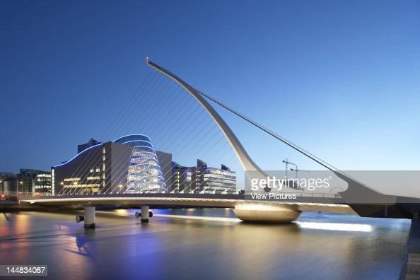 Samuel Beckett Bridge North Wall Quay Dublin Dublin Ireland Architect Santiago Calatrava Samuel Beckett Bridge Santiago Calatrava Dublin Ireland 2009