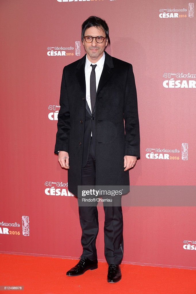 Samuel Benchetrit arrives at The Cesar Film Awards 2016 at Theatre du Chatelet on February 26 2016 in Paris France