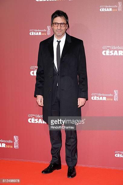 Samuel Benchetrit arrives at The Cesar Film Awards 2016 at Theatre du Chatelet on February 26 2016 in Paris France