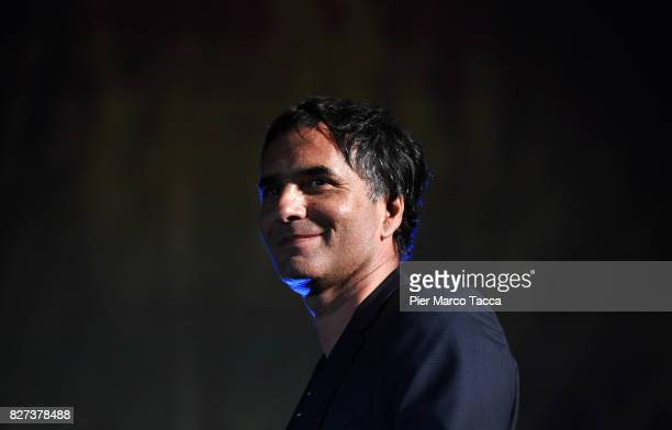 Samuel Benchetrit attends the 'Chien' premiere during the 70th Locarno Film Festival on August 7 2017 in Locarno Switzerland