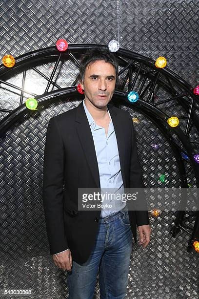 Samuel Benchetrit attends the Dior Homme Menswear Spring/Summer 2017 show as part of Paris Fashion Week on June 25 2016 in Paris France