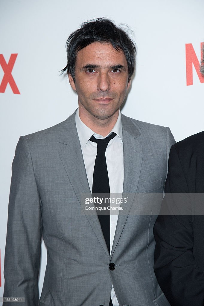 Samuel Benchetrit attends the 'Netflix' Launch Party At Le Faust In Paris on September 15 2014 in Paris France