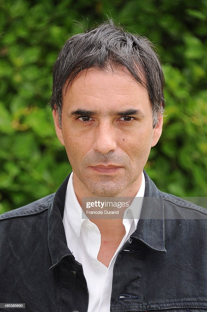 Samuel Benchetrit poses at a photocall for the film 'Asphalte' during the 8th Angouleme FrenchSpeaking Film Festival on August 27 2015 in Angouleme...