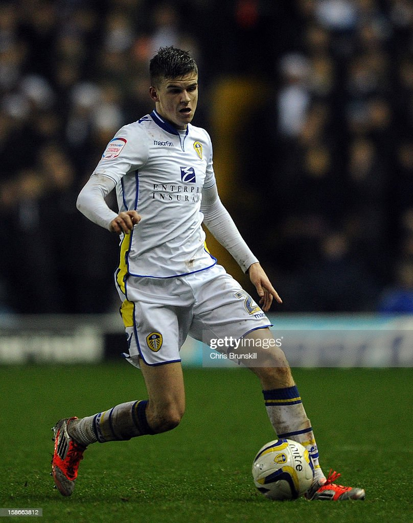 Samuel Bryam of Leeds United in action during the npower Championship match between Leeds United and Middlesbrough at Elland Road on December 22, 2012 in Leeds, England.