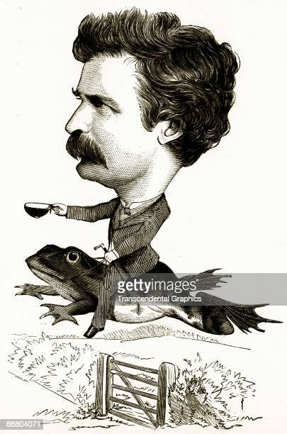 mark twain jumping frog essay Born in a back wood missouri house as a small and frail boy, rising to become the most successful writer of his time, samuel clemens (a k a mark twain.