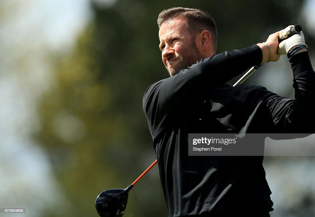 Samuel Cubitt of De Vere Dunston Hall during the PGA Professional Championship East Qualifier at Gog Magog Golf Club on May 3, 2016 in Cambridge, England.