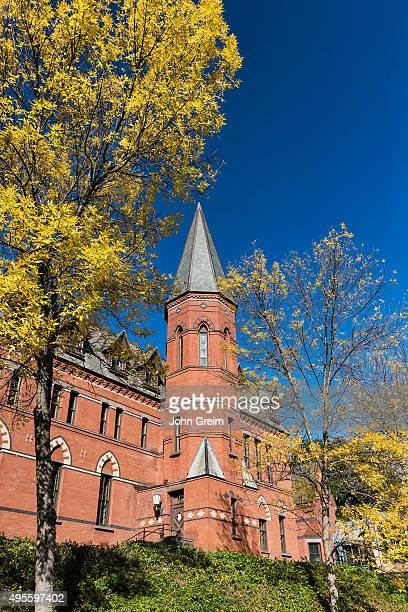 Samuel Curtis Johnson Hall School of Management on the campus of Cornell University