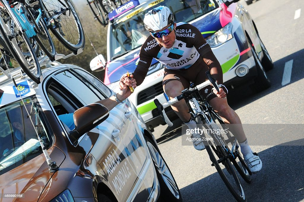 <a gi-track='captionPersonalityLinkClicked' href=/galleries/search?phrase=Samuel+Dumoulin&family=editorial&specificpeople=760365 ng-click='$event.stopPropagation()'>Samuel Dumoulin</a> of team AG2R LA MONDIALE during Stage Four of the Paris-Nice cycle race on March 12, 2015 in Varennes-sur-Allier, France.