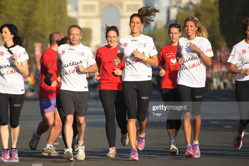 Paris Marathon 2011 - Celebrities Run For Mecenat Chirurgie Cardiaque