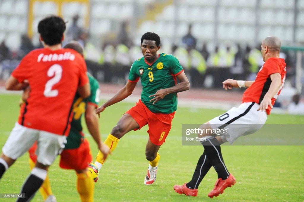 Samuel ETO O - - Egypte / Cameroun - Coupe d Afrique des nations 2008 - Ghana,