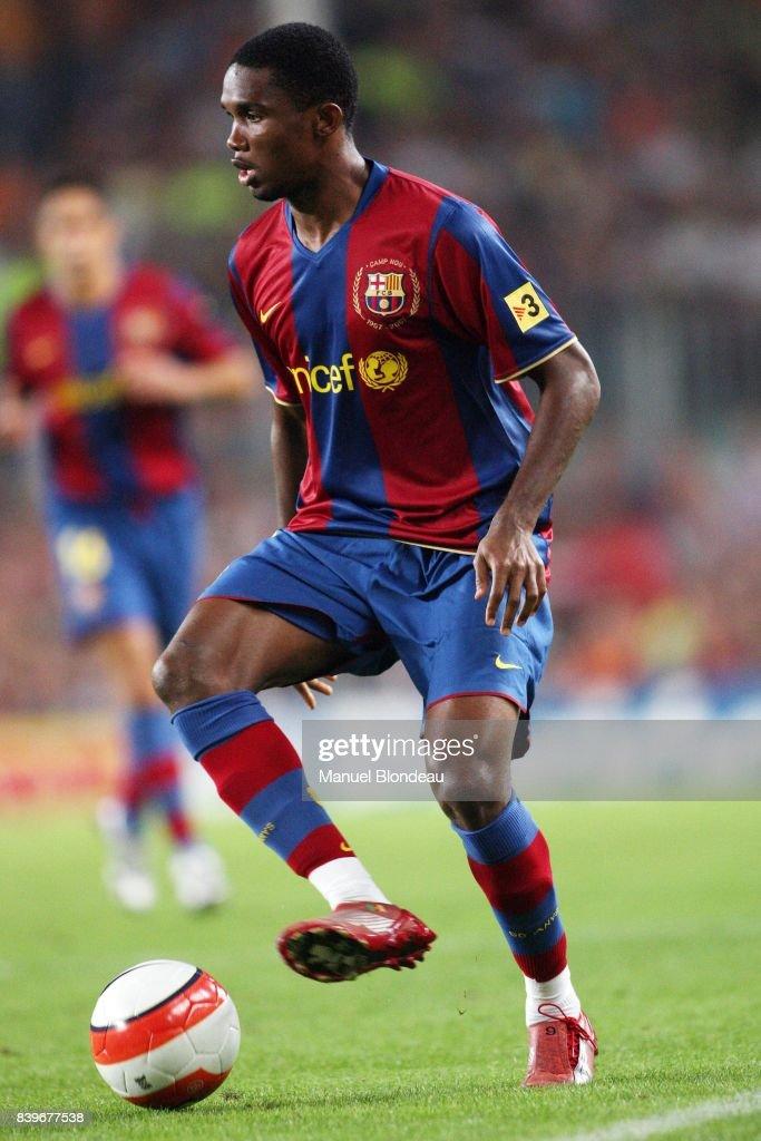 Samuel ETO O - FC Barcelone / Inter Milan - - 42e Trophee Joan Gamper,