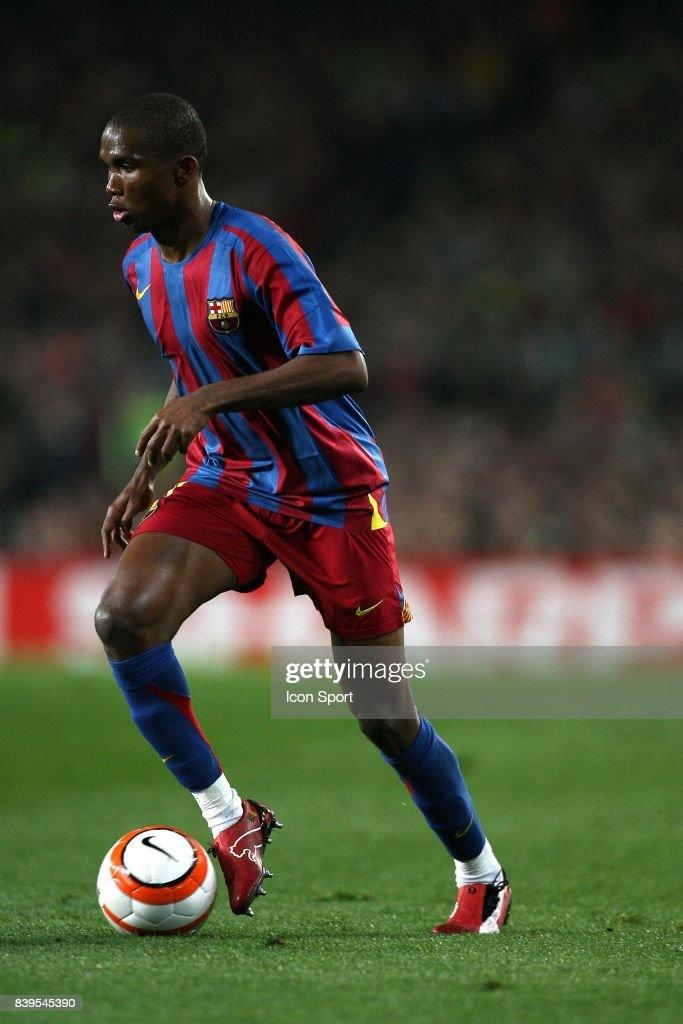 Samuel ETOO - - Barcelone / Chelsea - 1/8 finale retour - Champions League,
