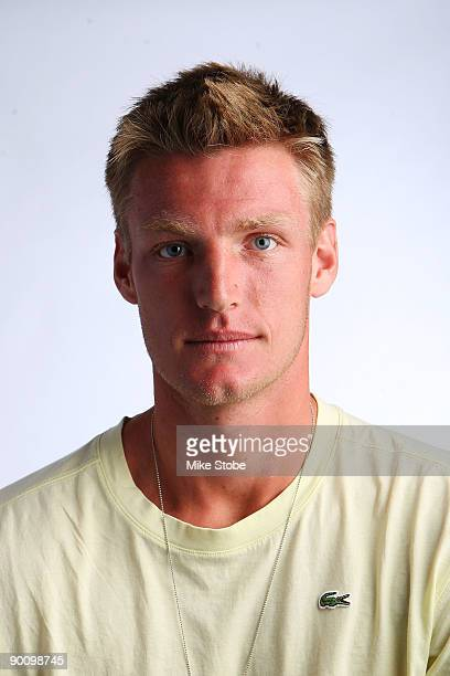 Samuel Groth of Australia poses for a US Open headshot at the USTA Billie Jean King National Tennis Center on August 26 2009 in the Flushing...