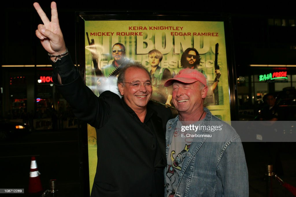 Samuel Hadida producer and Tony Scott director during New Line Cinema's 'Domino' Los Angeles Premiere at Grauman's Chinese Theatre in Los Angeles...