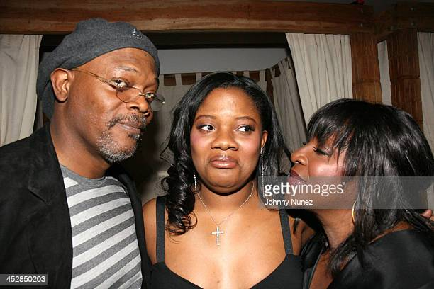 Samuel Jackson Zoe Jackson and LaTanya Jackson *EXCLUSIVE*