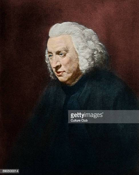 Samuel Johnson portrait English writer and author of 'A Dictionary of English Language' 18 September 1709 13 December 1784 After the portrait by John...