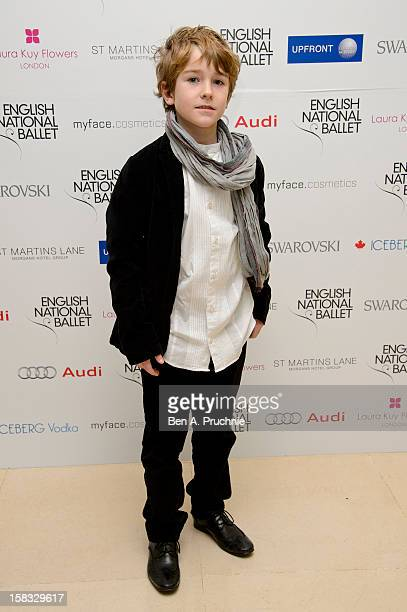 Samuel Joslin attends the English National Ballets Christmas Party at St Martins Lane Hotel on December 13 2012 in London England