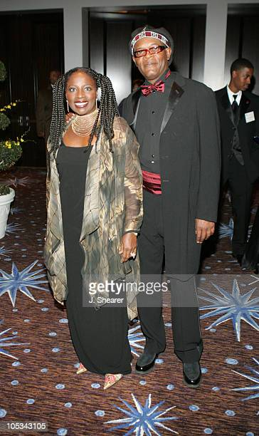 Samuel L Jackson and wife LaTanya Richardson Jackson