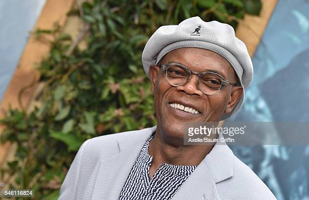 Samuel L Jackson arrives at the premiere of Warner Bros Pictures' 'The Legend Of Tarzan' at TCL Chinese Theatre on June 27 2016 in Hollywood...