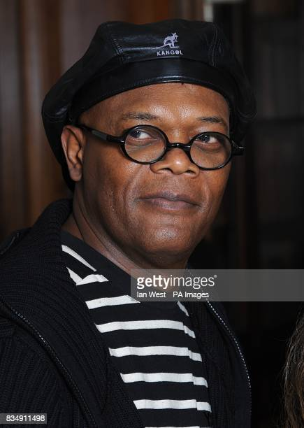 Samuel L Jackson attends a photocall to promote Frank Miller's latest film 'The Spirit' at the Mandarin Oriental in central London