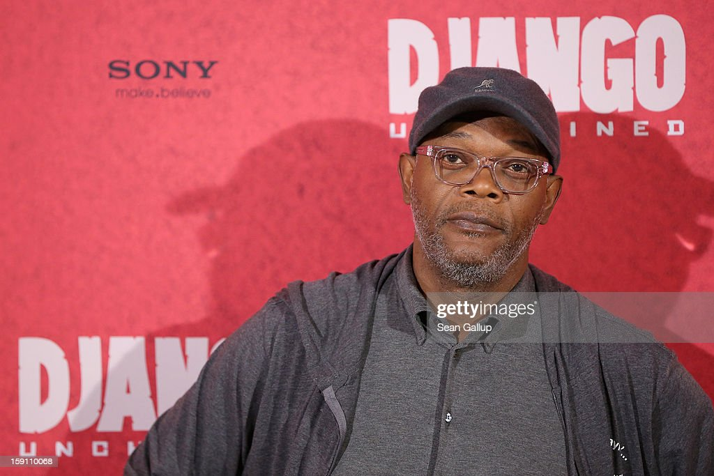 Samuel L. Jackson attends 'Django Unchained' Berlin Photocall at Hotel de Rome on January 8, 2013 in Berlin, Germany.