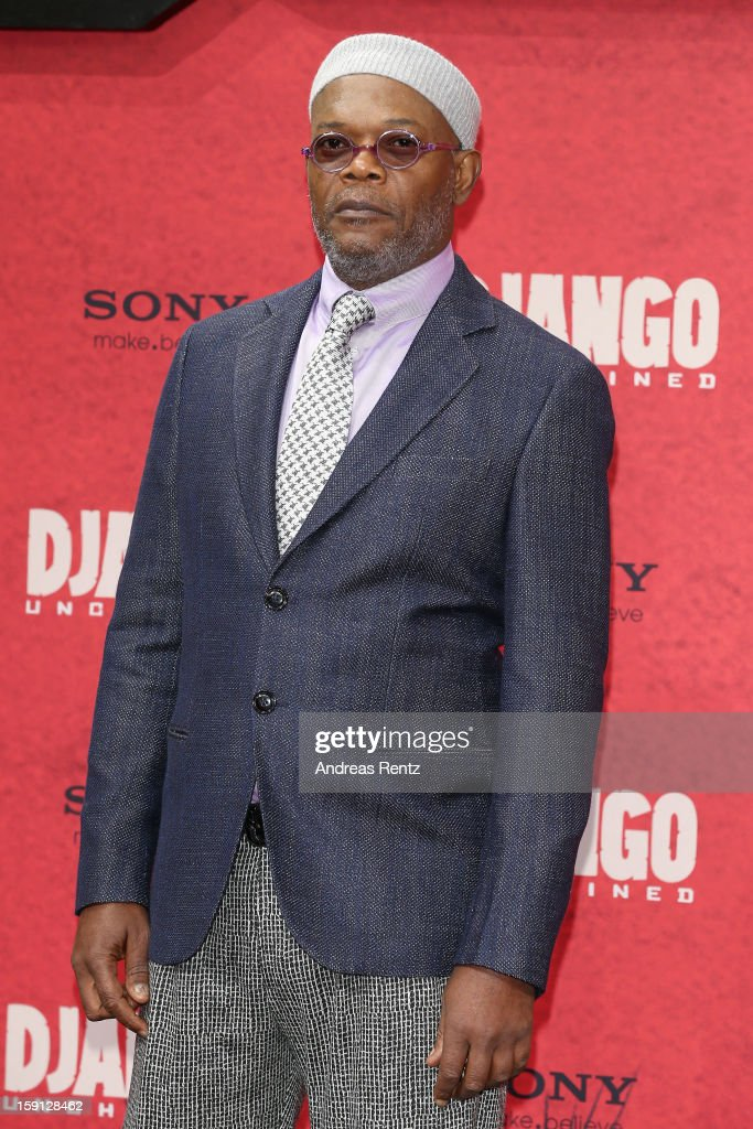 Samuel L. Jackson attends 'Django Unchained' Berlin Premiere at Cinestar Potsdamer Platz on January 8, 2013 in Berlin, Germany.