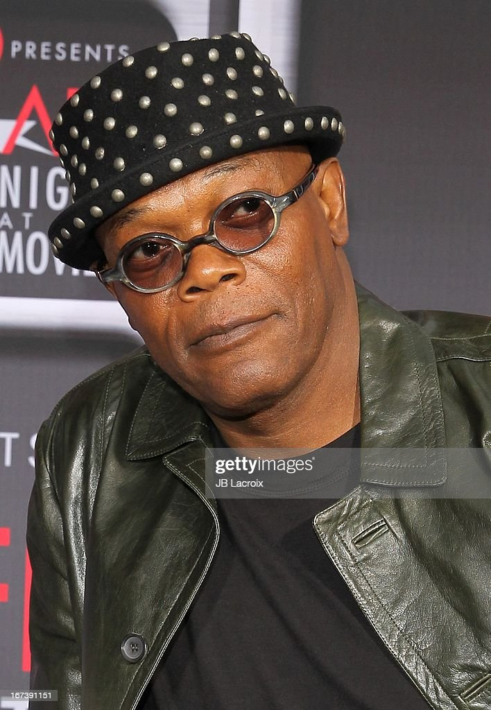 Samuel L. Jackson attends the AFI Night At The Movies presented by Target held at ArcLight Hollywood on April 24, 2013 in Hollywood, California.