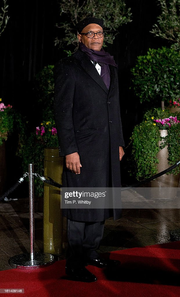 Samuel L Jackson attends the after party for the EE British Academy Film Awards at Grosvenor House, on February 10, 2013 in London, England.