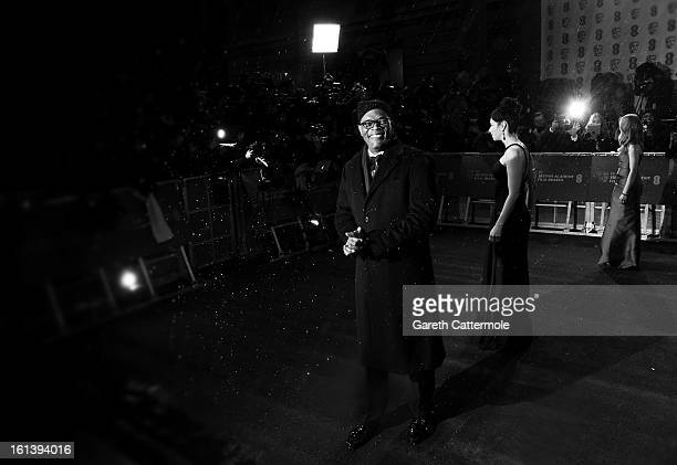 Samuel L Jackson attends the EE British Academy Film Awards at The Royal Opera House on February 10 2013 in London England
