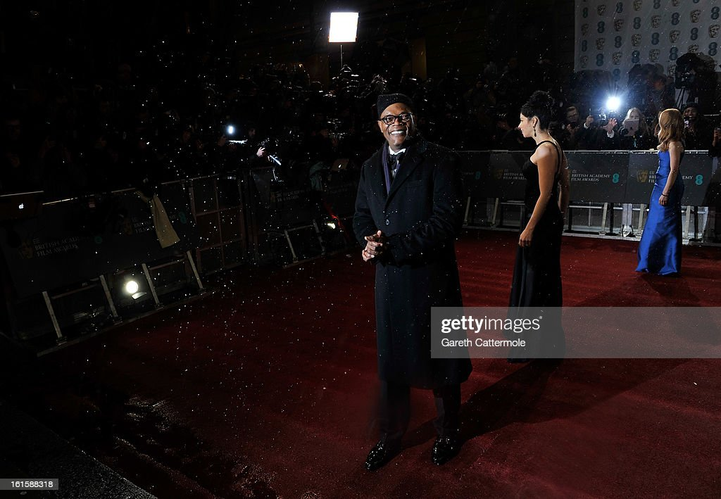 Samuel L. Jackson attends the EE British Academy Film Awards at The Royal Opera House on February 10, 2013 in London, England.