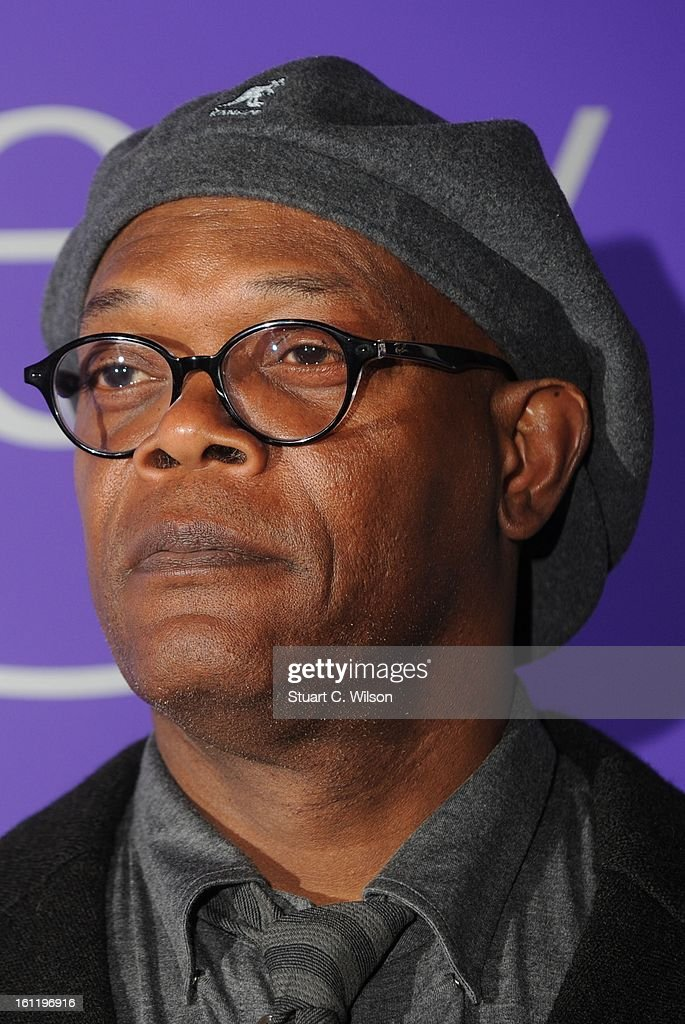 Samuel L Jackson attends the EE British Academy Film Awards nominees party at Asprey London on February 9, 2013 in London, England.