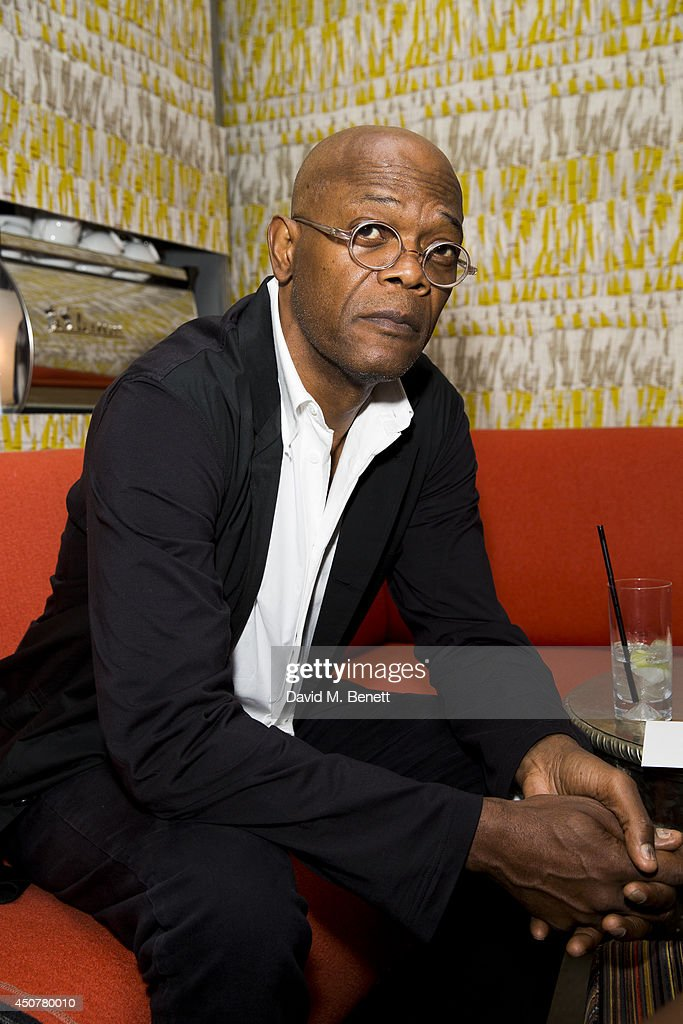 Samuel L Jackson attends the GQ dinner to celebrate London Collections: Men SS15 at Ham Yard Hotel on June 17, 2014 in London, England.