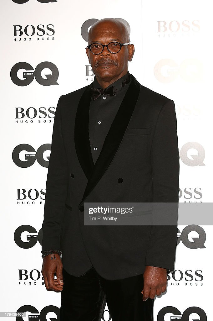Samuel L Jackson attends the GQ Men of the Year awards at The Royal Opera House on September 3, 2013 in London, England.