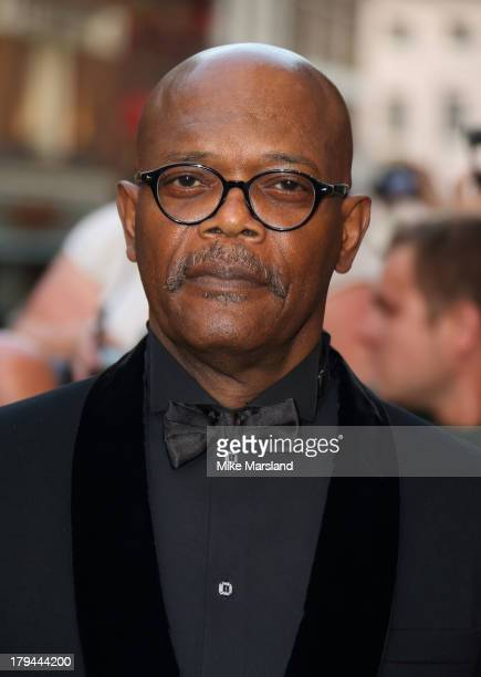Samuel L Jackson attends the GQ Men of the Year awards at The Royal Opera House on September 3 2013 in London England