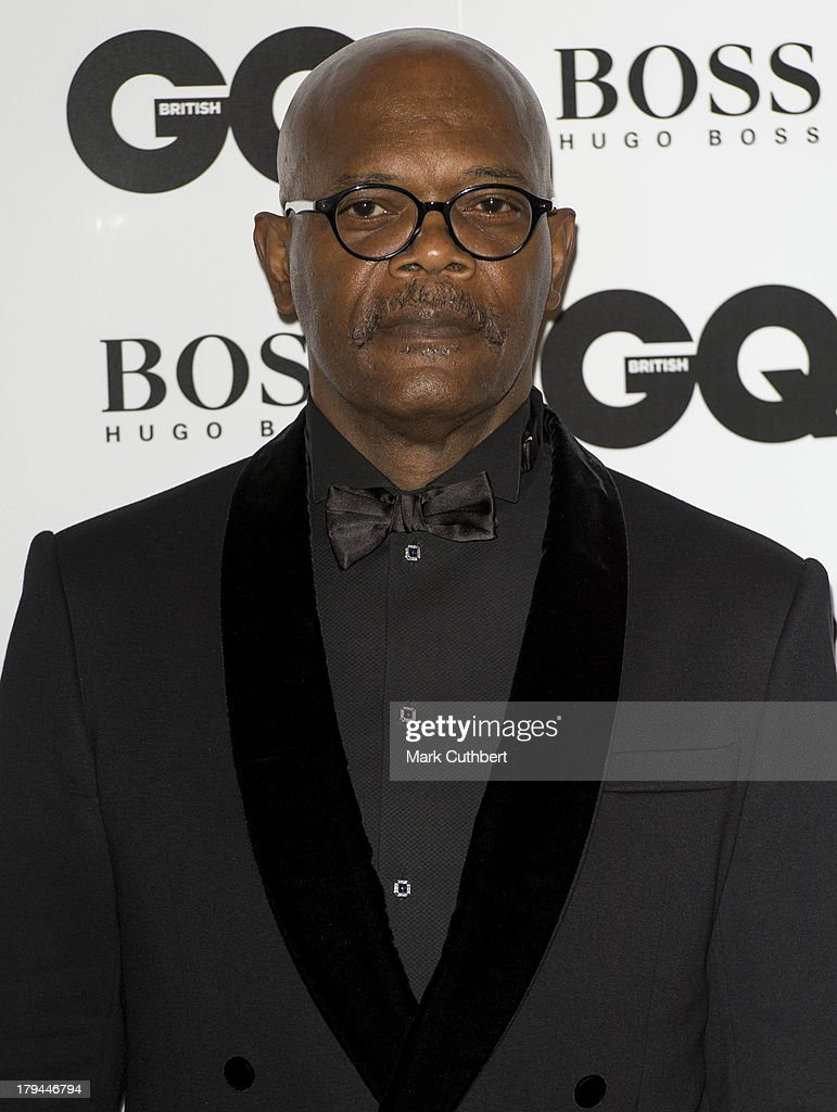 Samuel L. Jackson attends the GQ Men of the Year awards at The Royal Opera House on September 3, 2013 in London, England.