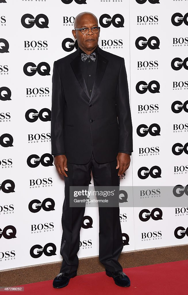 Samuel L Jackson attends the GQ Men Of The Year Awards at The Royal Opera House on September 8, 2015 in London, England.