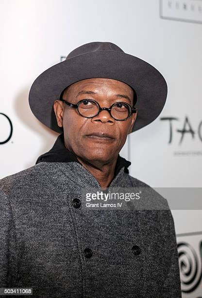 Samuel L Jackson attends the New York Film Critics Circle Awards at TAO Downtown on January 4 2016 in New York City