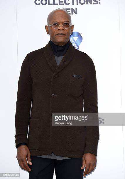 Samuel L Jackson attends the One For The Boys charity ball during the London Collections Men SS15 on June 15 2014 in London England