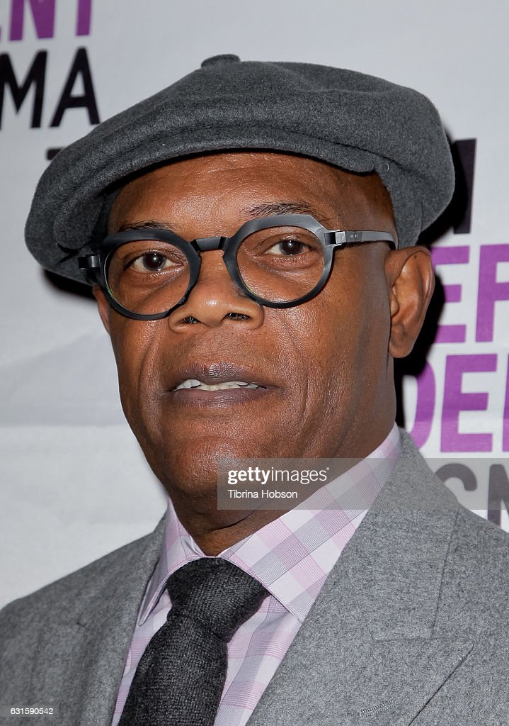 Samuel L. Jackson attends the premiere of Magnolia Pictures 'I Am Not Your Negro' at LACMA on January 12, 2017 in Los Angeles, California.