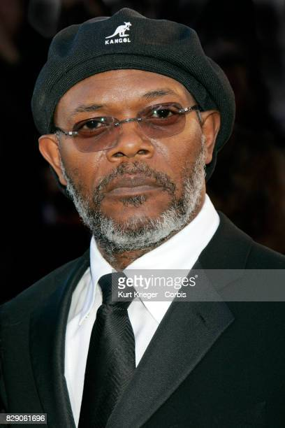 Image has been digitally retouched Samuel L Jackson attends the 'Volver' premiere at the 59th International Cannes Film Festival in Cannes France on...