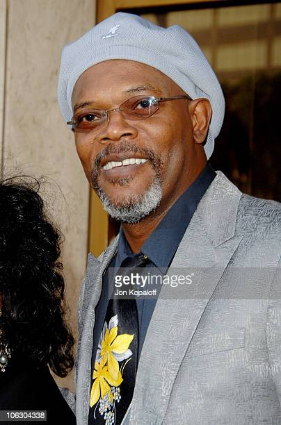Samuel L Jackson during '1408' Los Angeles Premiere Arrivals at Mann National Theater in Westwood California United States