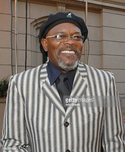 Samuel L Jackson during George Lopez Hosts National Kidney Foundation Gala Inside in Los Angeles California United States