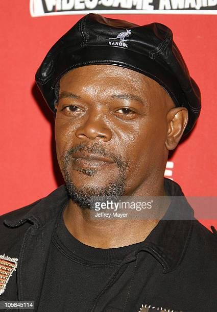 Samuel L Jackson during Spike TV's 2006 Video Game Awards Arrivals at The Galen Center in Los Angeles California United States